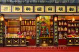 Laughing women working in the incense shop at Ling Yin Temple Hangzhou China