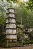 Li Gong stone Pagoda at Feilai FenLi Gong stone Pagoda at Feilai Feng limeg limestone grottoes at Ling Yin temple Hangzhou China