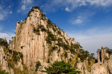 Weathered Granite of Beginning to Believe Peak at East Sea area of Huangshan mountain China