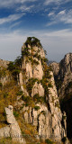 East end of Beginning to Believe Peak at Yellow Mountain Huangshan China