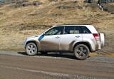 my muddy car