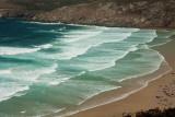 des dentelles de vagues