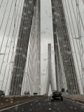 le pont de Normandie  (it's raining again)