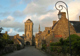 Locronan, the main street