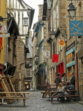 Dinan, street scene