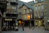 Dinan by night