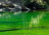 lago verde, lac vert
