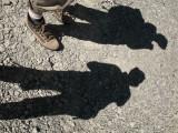 l'ombre des randonneurs