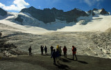 Glacier de la Meije, alt 3200 m.