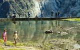 fishing, glacier de la Meije