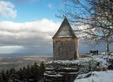 le mont Ste Odile et la plaine d'Alsace