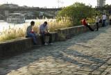 a lo largo del río Guadalquivir