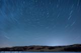 Star Trails Over Buffalo Pound