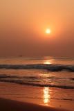 Sunrise at Puri beach