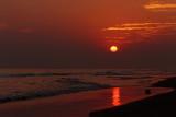 Sunset at Puri beach