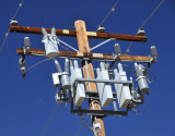 High-power, complex, electrical equipment in Bishop