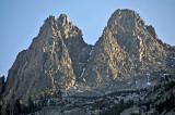 Four rocky peaks in June Lake area