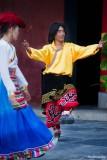 Ethnic Cultural Park.Tibetan Dancers