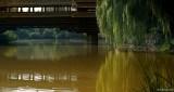 Ethnic Cultural Park.Wood Bridge
