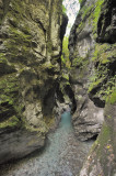 Canyon in Tolmin