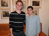 kids who visited the Vago's for Shabbat/Yom Tov