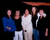 Jeanne, Patti, Pam, Julie & Melody