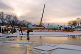 Ice Castle Construction  ~  January 6