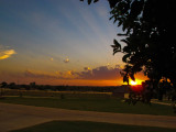 Sunset on Memorial Day, May 28, 2012