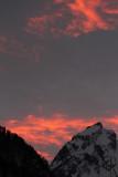 Abendrot am Dejenstock / red evening sky