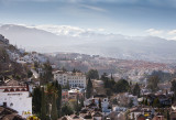 Early morning view over Granada