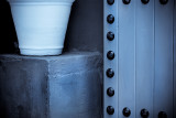 Pot & door in B&W