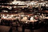 Djemaa El Fna night scene