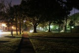 Neighborhood street night