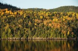 Saguenay river color changing