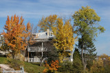Chicoutimi home and fall color