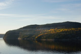 Peaceful Saguenay river