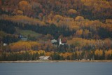 Little Quebec town and fall color