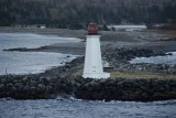 Lighthouse at Halifax harbor entrance
