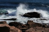 Thunder Hole rocks and waves