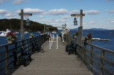 Bar Harbor fishing pier