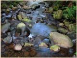 Badger creek blue sky reflections