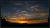 November Sunset from home