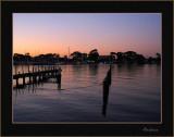Paynesville at sundown