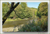 the river the Ourthe in Durbuy