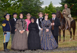 Cavaliers, Courage and Coffee Program, August 6th, Crednal and Welbourne, Photographer Douglas Lees