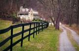 Lane to Foxton Cottage