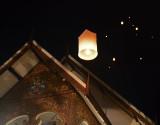 Over Wat Mahawan.