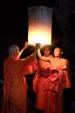 Monks Wishes Going Aloft!