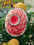 Watermelon Sculptured Flower