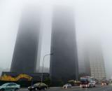Puerto Madero : 17h20 ...brouillard!
